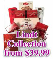 Christmas Lindt Gift Basket Collection