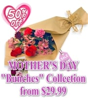 Mothers Day Bunches Collection