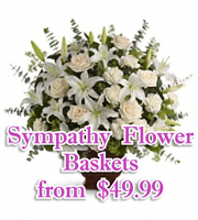 Sympathy Flower Baskets