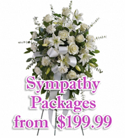 Sympathy Flower Packages