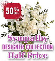 Designer Collection Sympathy Flowers