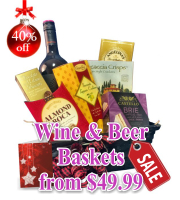 Wine & Beer Gift Baskets