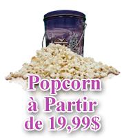 Popcorn Gourmet Organique