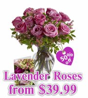 Mothers Day Lavender Roses