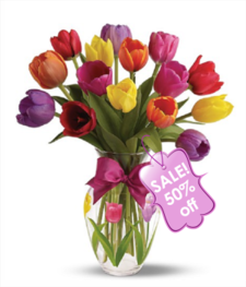 15 Tulip Bouquet