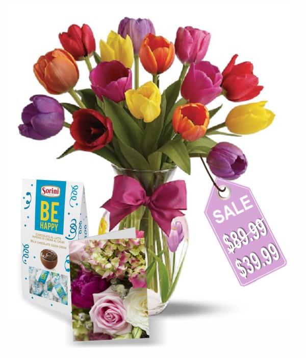 15 Tulips Combo