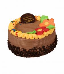 Gâteau au chocolat de luxe