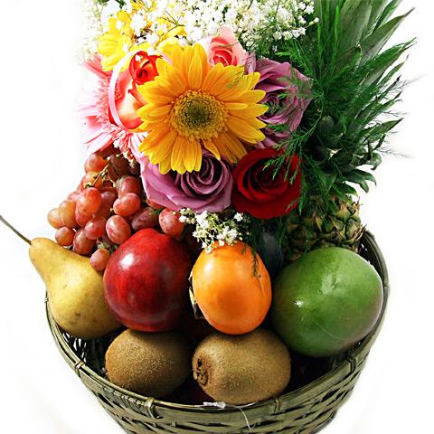 Panier de fruits classique