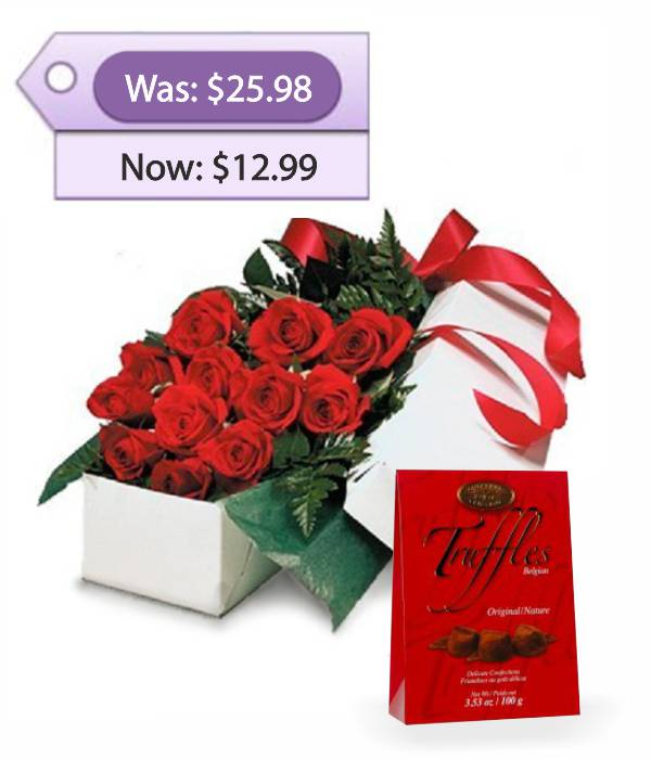 Deluxe Gift Package & Truffles