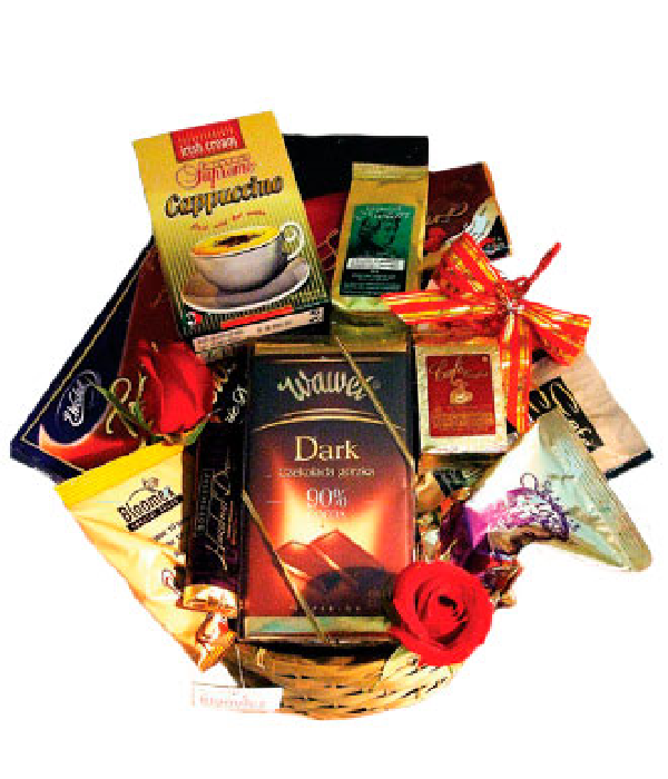 Extra Large Coffee and Chocolate Basket