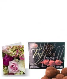 Free Truffles & Card