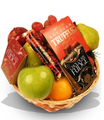 Panier Fruits et Chocolats