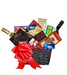 Wine & Gourmet Gift Basket