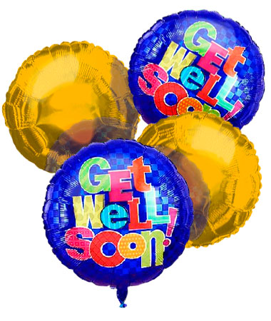 Get Well Balloon Bouquet (4)