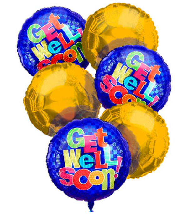 Get Well Balloon Bouquet (6)