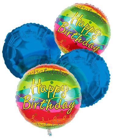 Happy Birthday Balloon Bouquet 4