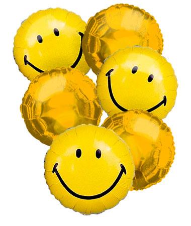 Happy Face Balloon Bouquet (6)