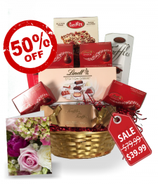 Lindt Gift Basket Collection I