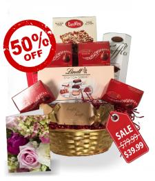Lindt Gift Basket Collection I