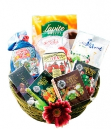 Tea Sampler Basket