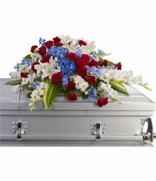 Arrangement distingué de cercueil
