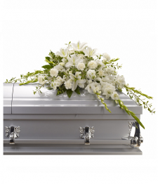 Mémoire généreux gerbe de cercueil