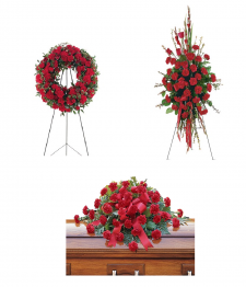 Warm Regards Funeral Flower Package