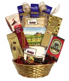 Deluxe Choice Gift Basket