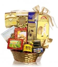 Panier cadeau déclices gourmets II