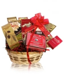 Deluxe Snack Gift Basket