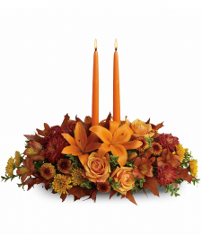 Burst of Autumn Centrepiece