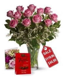 Une douzaine de roses Fête des Mères II