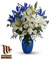 Movember Support Bouquet