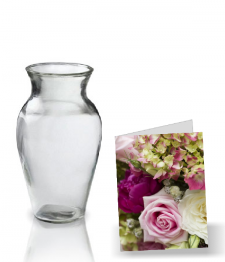 Vase and Card Combo