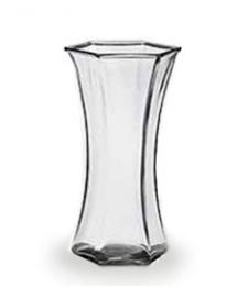 Vase soufflé en verre artisanal