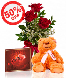 Roses & Teddy Special