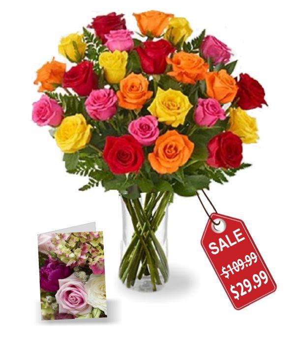 Two Dozen Mixed Rose Special
