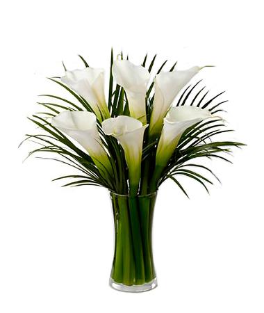 Bouquet de lis calla