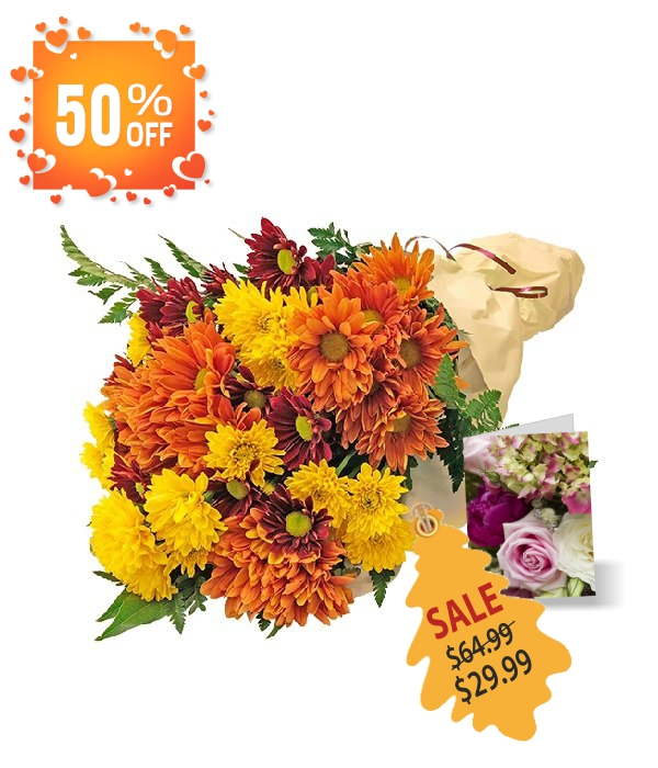 Autumn Bunches Collection