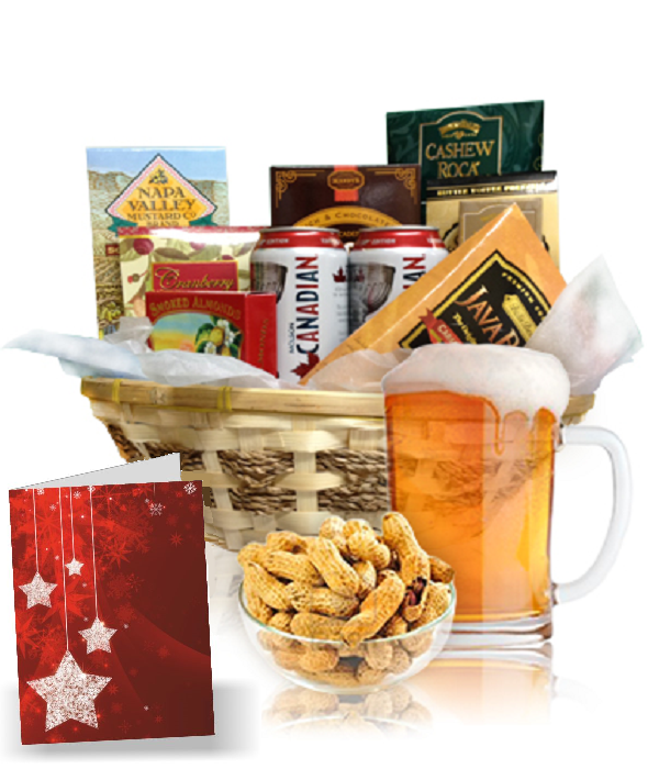 Beer & Nuts Basket