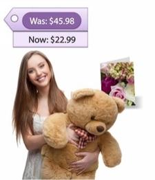 Large Teddy Bear & Card