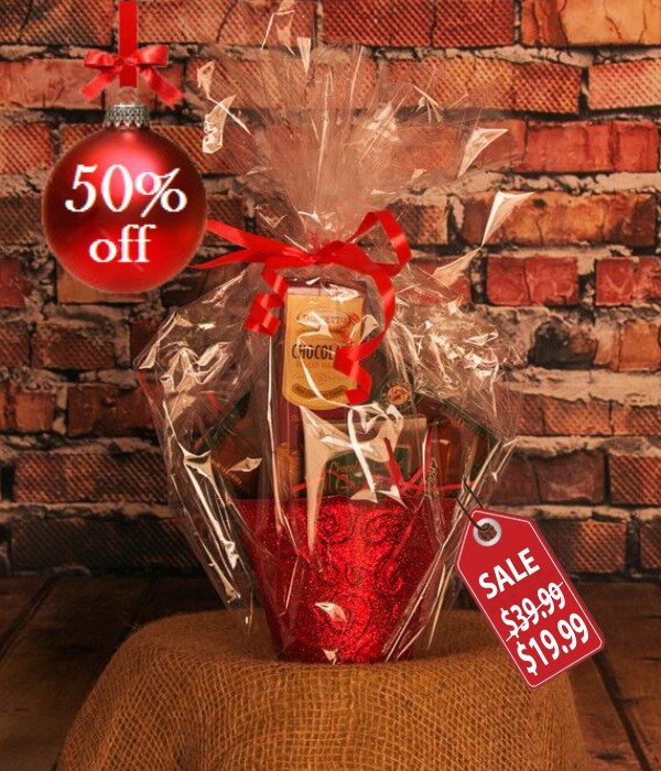 Country Christmas Gift Basket I