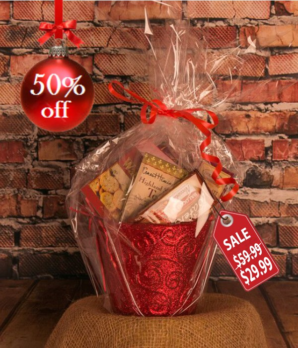 Country Christmas Gift Basket II