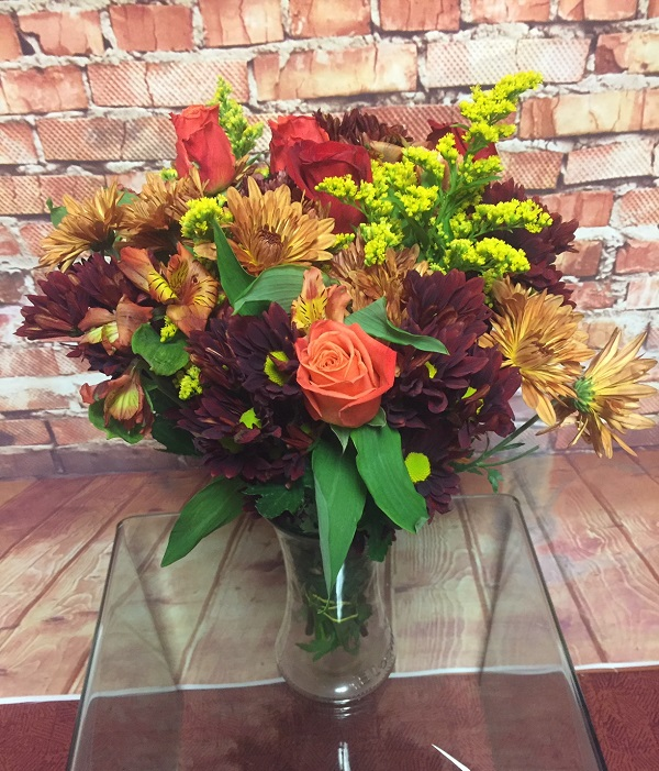 Edward Jones Fall Celebration Bouquet