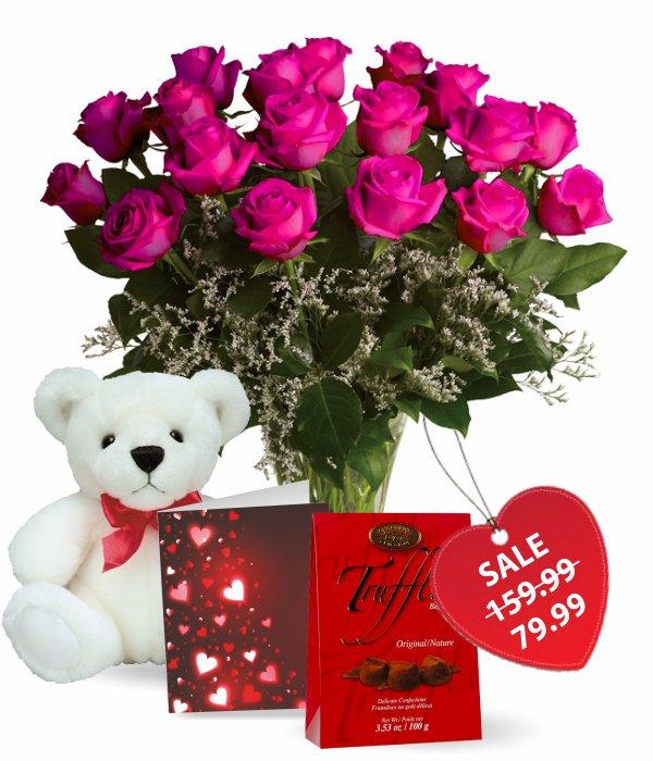 Dix-huit Roses dame chaude spéciale