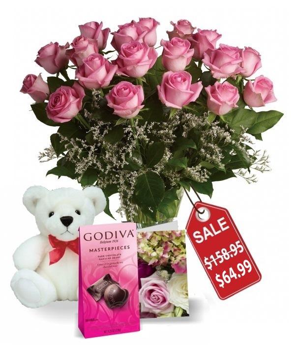 Dix-huit roses de fête des mères IV