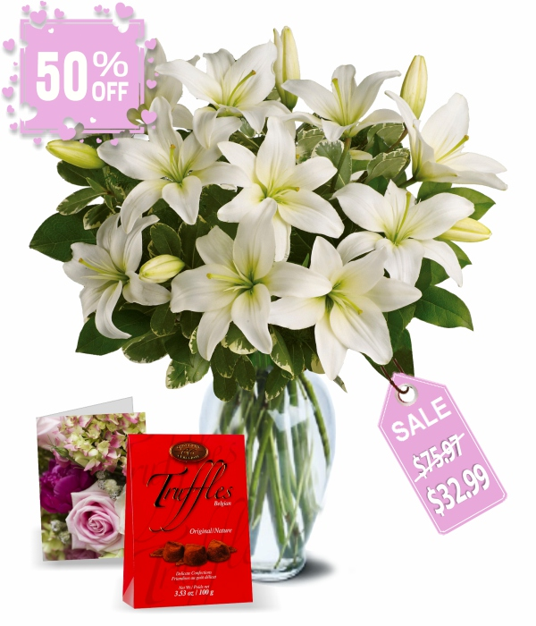 20 Blooms of Easter Lilies II