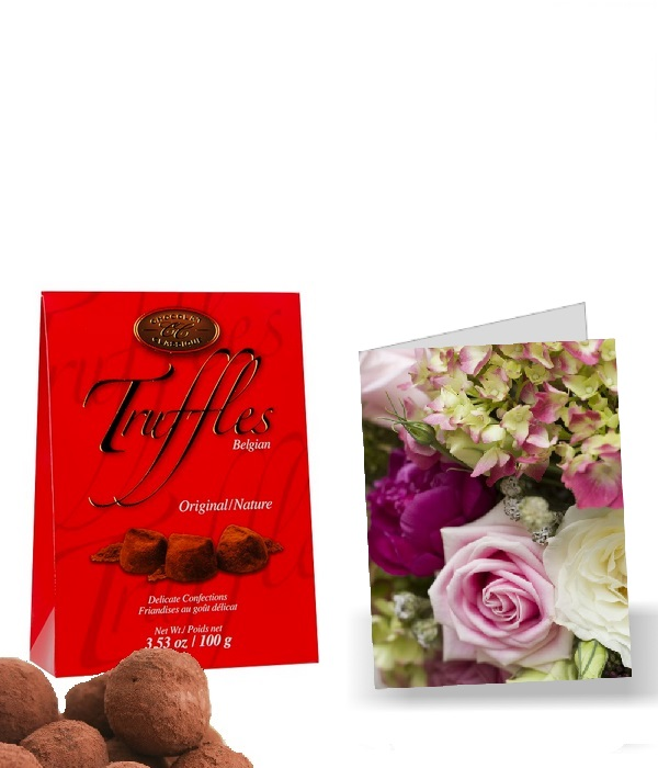 Free Truffles and Card