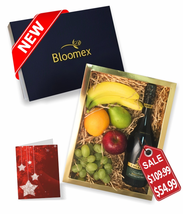 Fruit & Bubbly Gift Box