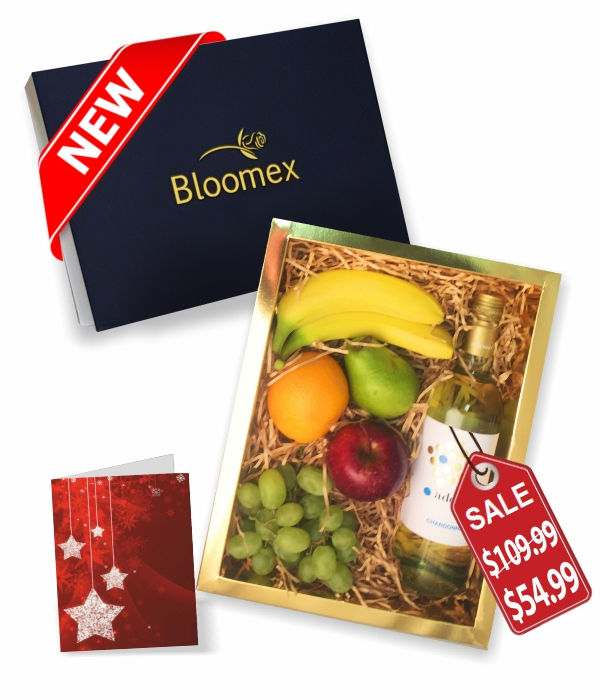 Fruit & White Wine Gift Box